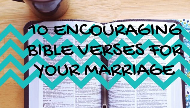 Bible verses for your marriage