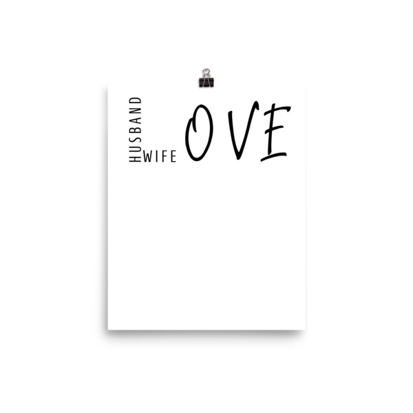 LOVE (husband wife) Poster