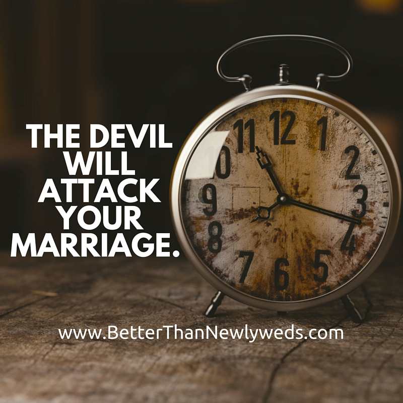 The devil WILL attack your marriage   Stacy Hudson   Better Than Newlyweds