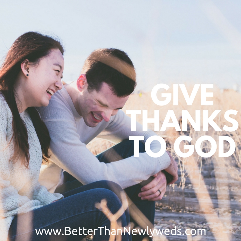 Give Thanks to God | Stacy Hudson | Better Than Newlyweds